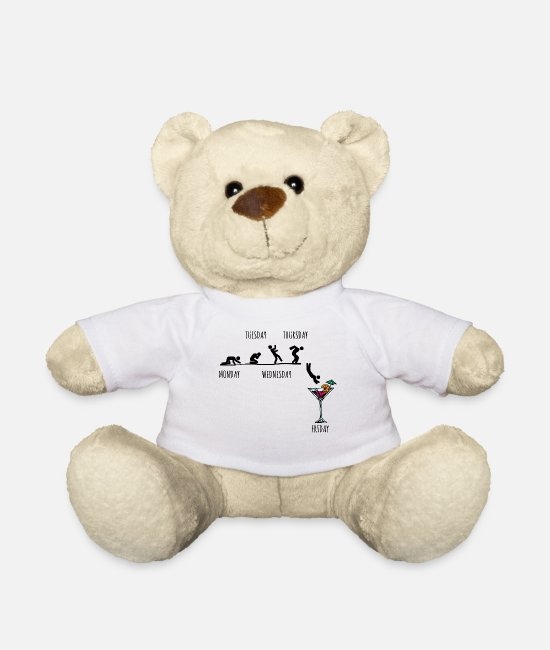 Celebrate Teddy Bear Toys - Party partying - Teddy Bear white