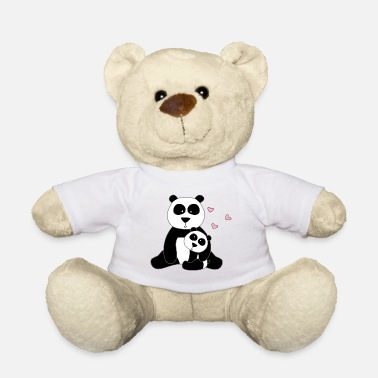 Stylized Animal Panda with cub - Teddy Bear
