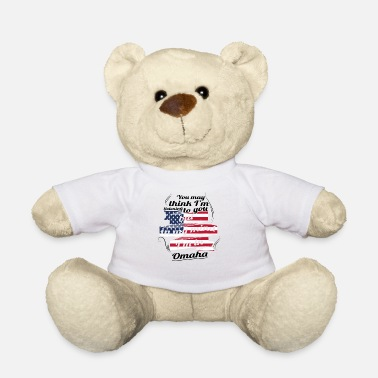 Omaha THERAPIE HOLIDAY Reizen Amerika USA Omaha - Teddybeer
