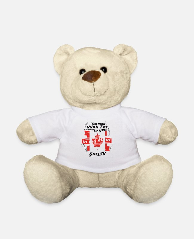 Travel Bug Teddy Bear Toys - HOLIDAY HOME ROOTS TRAVEL Canada Canada Surrey - Teddy Bear white