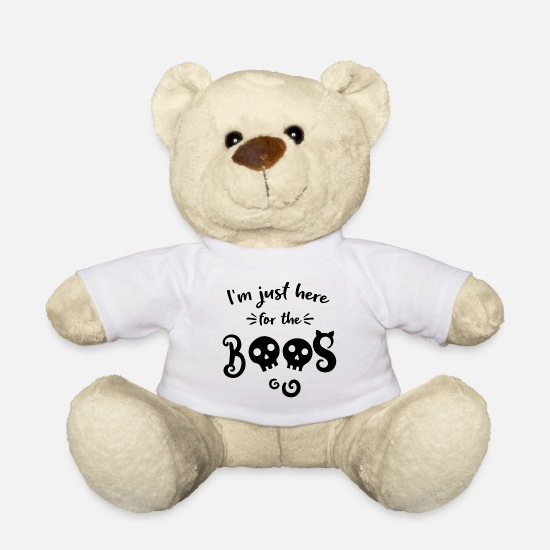 Birthday Teddy Bear Toys - witching hour - Teddy Bear white