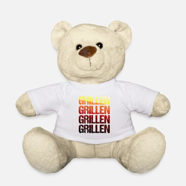 Konge Grill t-shirt Grillmeister grill sæson gave - Bamse