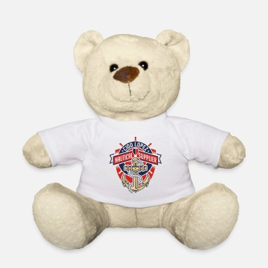 Graphic Art Nautical Graphic Art - Teddy Bear