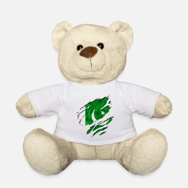 Country Flag Football Sport And Arab Art Jesus country flag pakistan - Teddy Bear