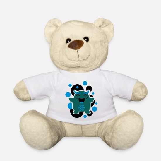 Fantasy Teddy Bear Toys - Cartoon Character 02 - Teddy Bear white