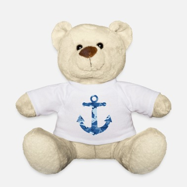 Camo Camo anchor - Teddy Bear