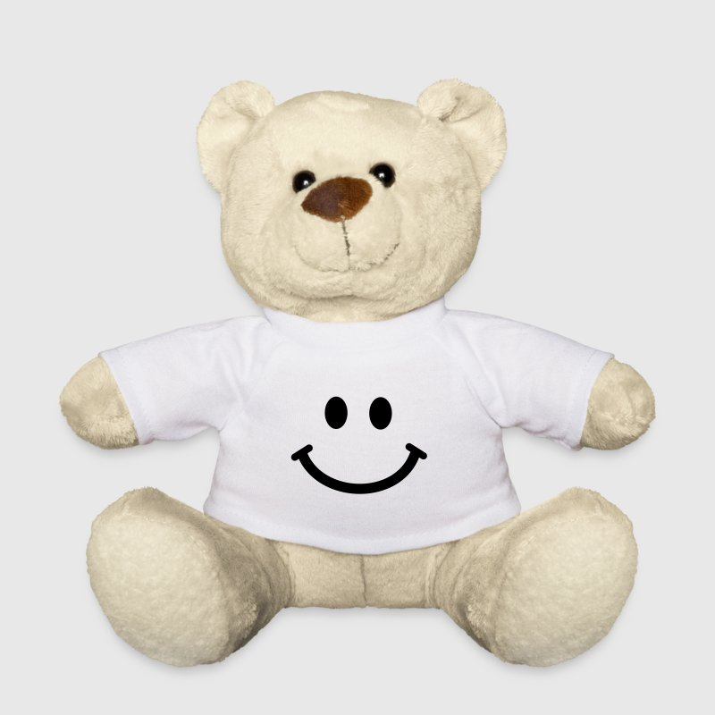Happy Smiley Face - Teddy Bear