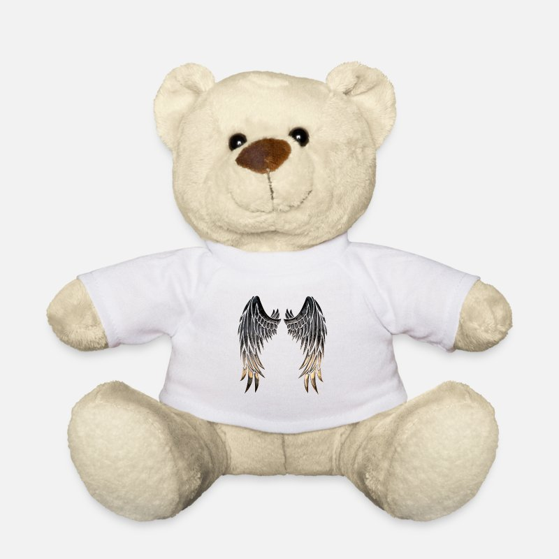 Angelwings Teddy Bear Toys - Angelwings - Teddy Bear white