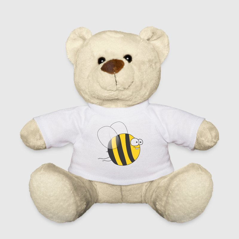 Cool & Crazy Funny Bee / Bumble Bee (Sweet & Cute) - Teddy Bear