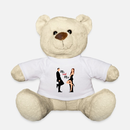 Love Teddy Bear Toys - wedding - Teddy Bear white