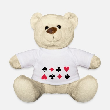 Cards Card Suits - Ours en peluche
