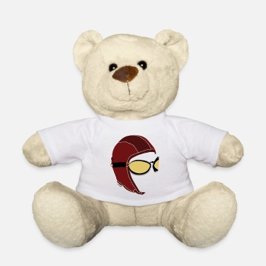 Logo Underwear Aviator White Boxer - Teddy Bear