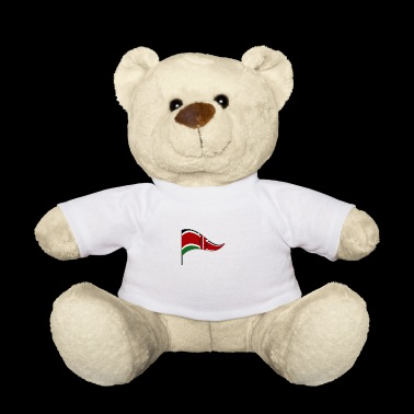 Kenya Africa Nairobi flag Flag of the country - Teddy Bear