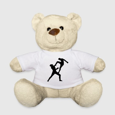 karate martial arts thai boxing ninja kickboxing47 - Teddy Bear