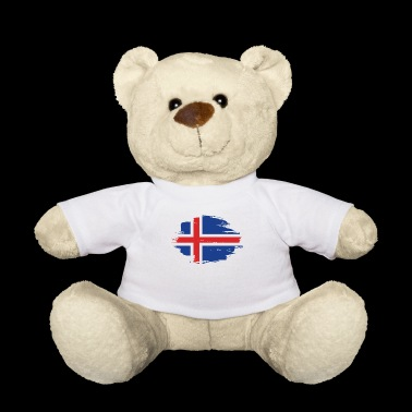 home flag love origin Iceland png - Teddy Bear