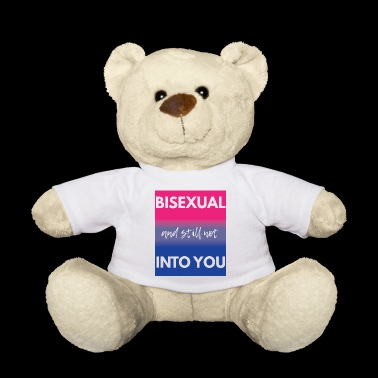 Bisexual T-Shirt - Gay Pride - Gay - Gift - Teddy Bear