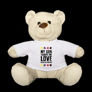 Gift for autistic mothers fathers autism - Teddy Bear