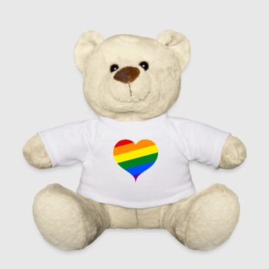 LGBT PRIDE Heart - Teddy