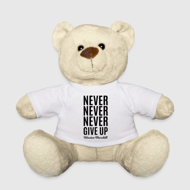 Never Give Up - Osito de peluche
