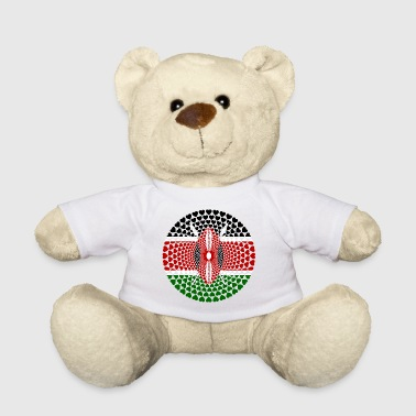KENYEN KENYA LOVE HEART Mandala - Teddy Bear