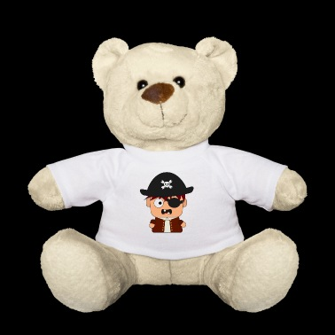 Pirate Corsair eye patch - Teddy Bear