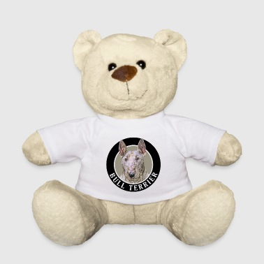 Bull Terrier 002 - Teddy Bear