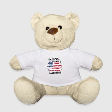THERAPY HOLIDAY AMERICA USA TRAVEL Baltimore - Teddy Bear