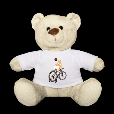 Dog Pet Bicycle Kids Gift Tricycle Animal - Teddy Bear