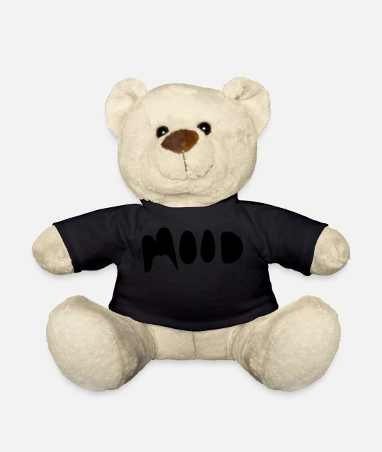 Mood Teddy Bear Toys - MOOD - Teddy Bear black
