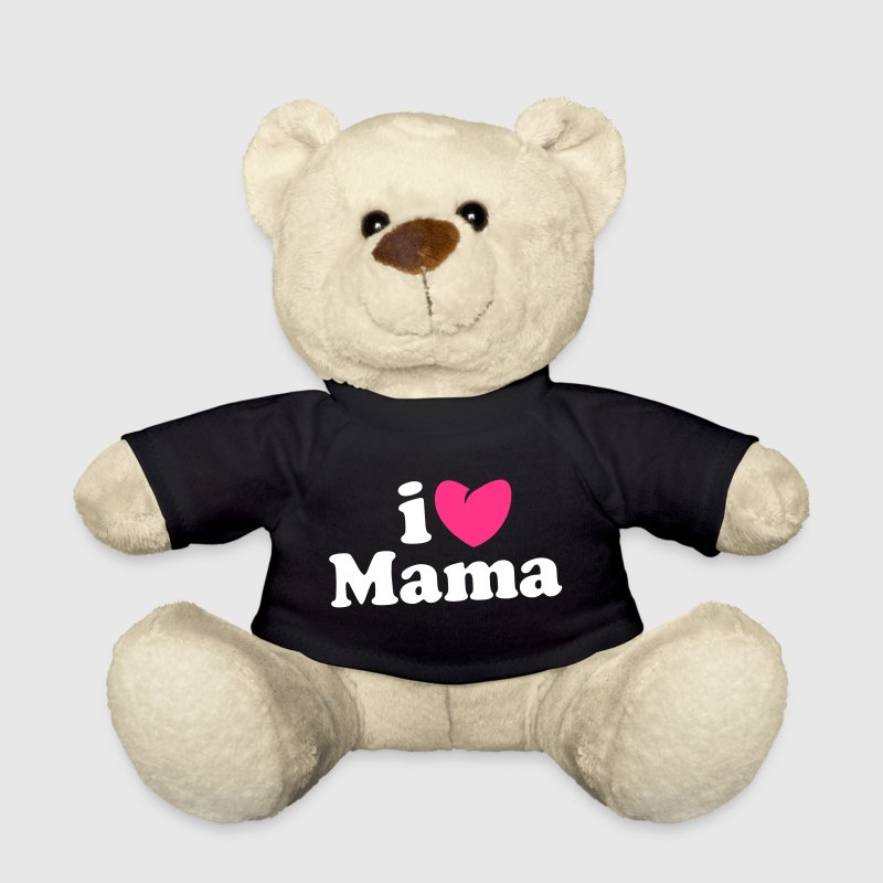 i love mama - i heart mama - ich liebe mutti mom mutter - Osito de peluche