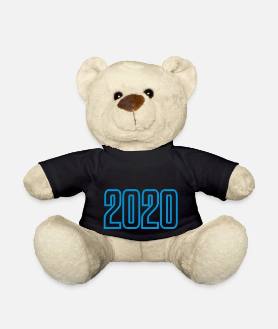 New Year's Day Teddy Bear Toys - 2020 - Teddy Bear black