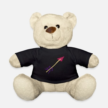 Water Underwear Symbol - Shooting Arrow - Teddy Bear