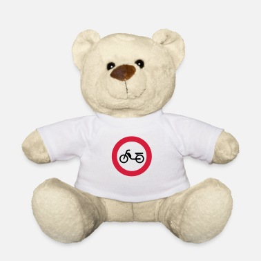 Interdiction Cyclomoteur cyclomoteur Interdiction Interdiction - Ours en peluche