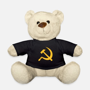 Sickle hammer and sickle / hammer & sickle - Teddy Bear