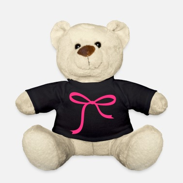 Ribbons pink ribbon - Teddy Bear