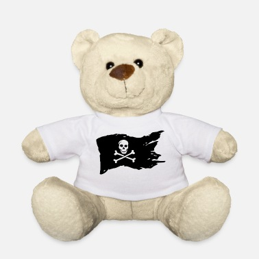 Pirate Flag Pirate Flag Skull Pirate - Teddy Bear