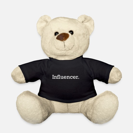 Influencer Teddy Bear Toys - Influencer - Teddy Bear black