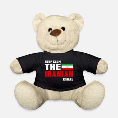 Persia Keep calm the iranian is here Iran flag gift - Teddy Bear