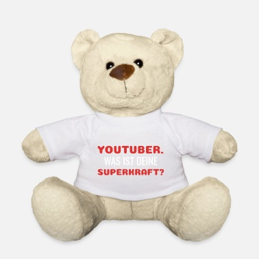Youtube Youtube Youtuber - Teddy Bear