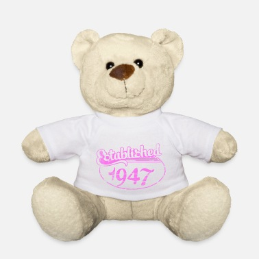 Established established 1947 dd (fr) - Ours en peluche