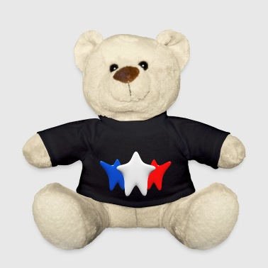 Stars in blue, white and red - Teddy Bear