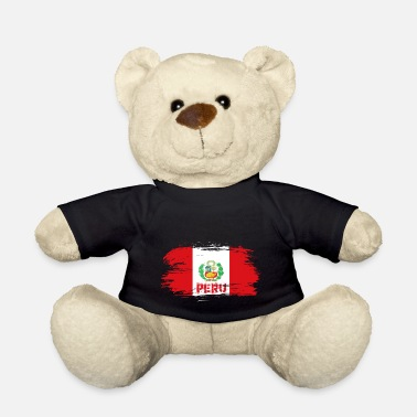 Lima Peru Flag / Gift South America Lima State - Teddy Bear