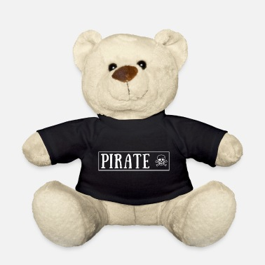 Eye Patch Pirate with skull and eye patch - Teddy Bear