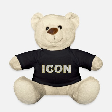 Bling Icon Bling Bling Lettering - Teddy Bear
