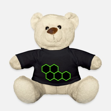 Hexagon Hexagons - Teddy Bear