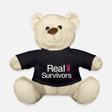 Ribbons The Real Survivors of Breast Cancer - Teddy Bear