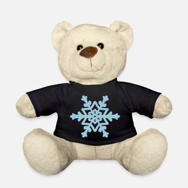 Snowflake / Snowcrystal winter design - Teddy Bear