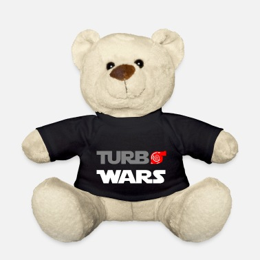 Turbo Turbo Wars turbo lettering - Teddy Bear