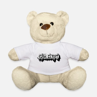 Ghost ghost halloween saying gift design cool - Teddy Bear