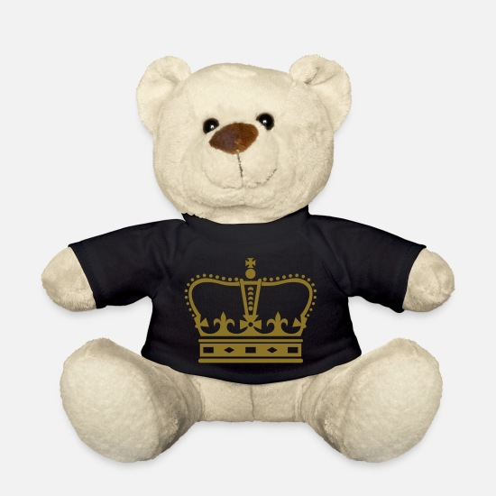 Birthday Teddy Bear Toys - UK - Crown - Teddy Bear black